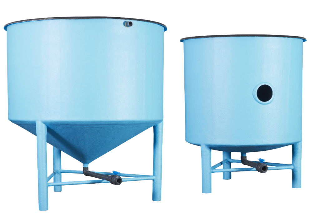 Cylindrical tank for fish farming polyway for Aquaculture fish tanks