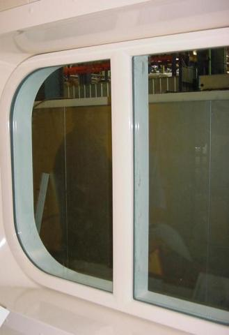 Embrasure for cruise ships.